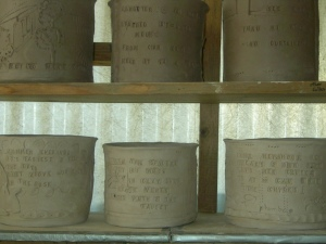 Taking the words written to honor beings in yard - on cylinders, yá!